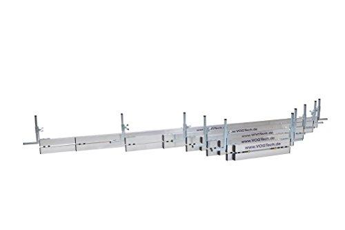 Vogtech verstellbare Abziehschienensatz 5 tlg. 45-400cm