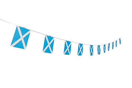 TSMD Scotland Flag, 100 Feet Scottish Flag National Country World Pennant Flags Banner,Party Decorations for Grand Opening,Olympics,Bar,School Sports Events,International Festival Celebration
