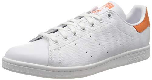 Adidas Stan Smith, Zapatillas de Deporte para Hombre, Blanco (Ftwbla/Ftwbla/Nartra 000), 44 EU