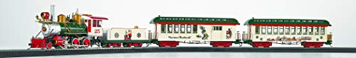 Bachmann Trains - Norman Rockwell's American Christmas Ready To Run Electric Train Set - On30 Scale - Runs on HO Track