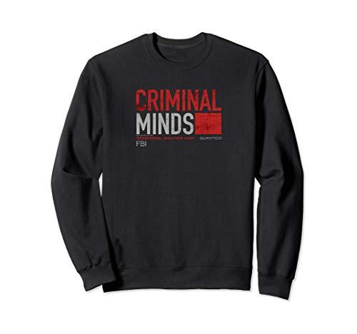 Criminal Minds Distressed BAU Quantico Sweatshirt