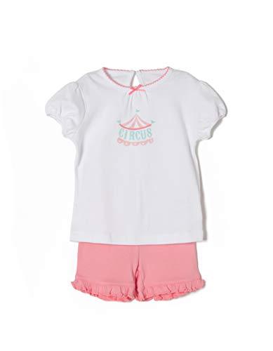 Zippy ZIPPY Baby-Mädchen Zbgp05_455_5 Schlafanzugoberteil, Weiß (White 1184), 86 (Herstellergröße: 18/24M)