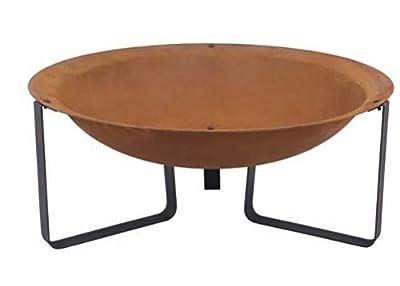 Woodlodge Helston Cast Iron Fire Pit Bowl by WOODLODGE
