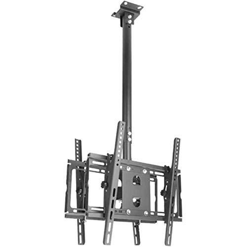 LKNJLL Soporte de montaje en la pared de TV para la mayoría de 40-55 pulgadas LED, LCD y TV de plasma, soporte de pared y techo, soporte de montaje de montaje en altura ajustable, inclinación telescóp