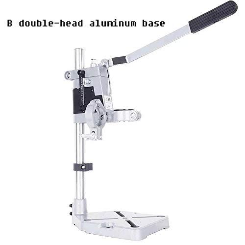 HEEGNPD Power tool bracket hand boor hoek molen gietijzer multifunctionele universele beugel aluminium zool enkele en dubbele kop snijden machine