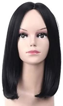 Brand New For Black Women Short Bob Wig Straight Brazilian Remy Human Hair Lace Front Wig