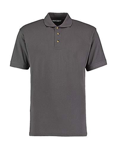 KUSTOM KIT Kustom Kit pflegeleichtes Piqué Arbeits-Poloshirt KK400,Farbe:Charcoal;Größe:M