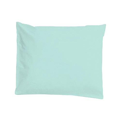 Taie d'oreiller imperméable et anti-acariens 60x60cm Morning Blue - Louis Le Sec