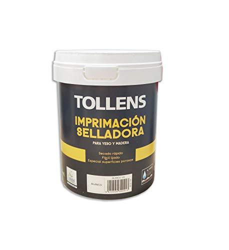 Tollens 8102 Imprimación Selladora al Agua, Blanco, 750 ml