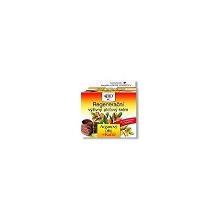 BIO Regenerating Nourishing Skin Cream Argan OIL + Karite / BIO régénérant nourrissante peau crème Argan huile + karité 50ml fabriqué en République tchèque