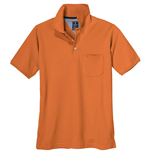 Redmond Basic Poloshirt orange XXL, XL Größe:3XL