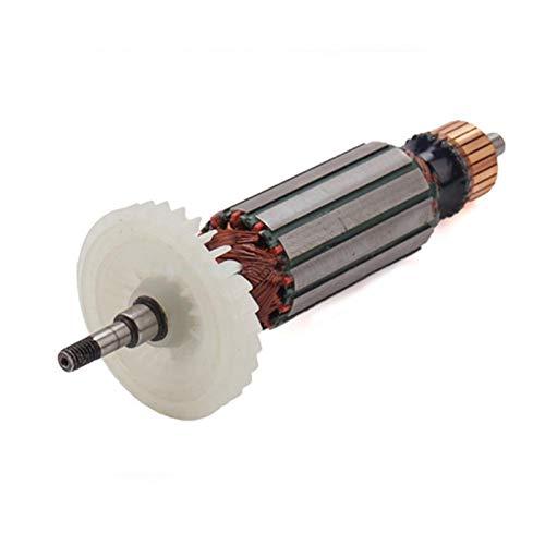 Lankater AC220V-240V reemplazo del inducido del Rotor para MAKITA Amoladora Angular 9556 9557 9558 9556NB 9556HN 9557NB 9557HN 9558NB 9558HN