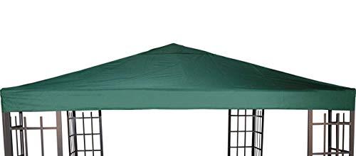 Universal Ersatzdach Metallpavillon 3x3 grün extra schwere Qualität 230 g/m2 wasserabweisend