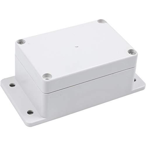 Uniqal Uniqal (R) - Caja de plástico impermeable (100 x 68 x 50 mm)