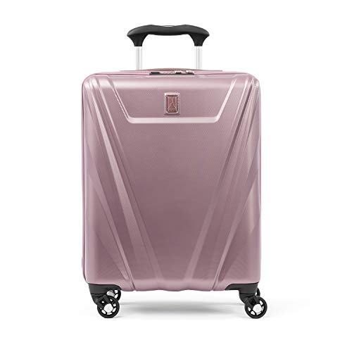 Travelpro Maxlite 5-Hardside Spinner Wheel Luggage, Dusty Rose, Carry-On 19-Inch