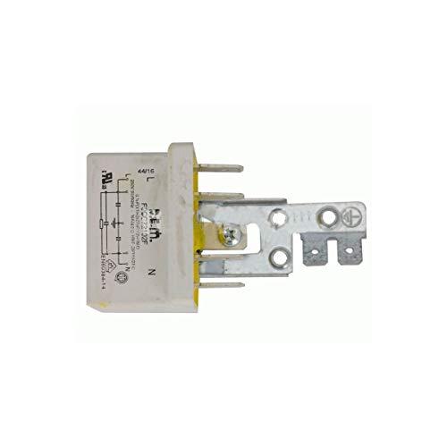 Recamania Condensador Trabajo Permanente Lavadora Standard 0,1 MF F3CF72102L