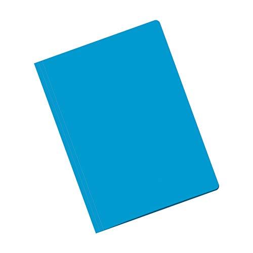 Dohe - Pack Subcarpetas - Folio - Azul - 50 uds.