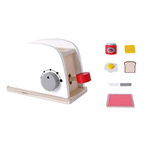 redreamsky Casa de Juegos para niños Cocina Juego de Juegos Simulación de Madera máquina para el Pan/máquina de café/Mezclador A