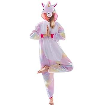 Spooktacular Creations Unicorn Onesie Costume Pajamas Adult  Small