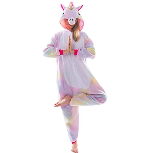 Spooktacular Creations Onesie Pyjama Adulte Unisexe Déguisement Animal Licorne (Large)
