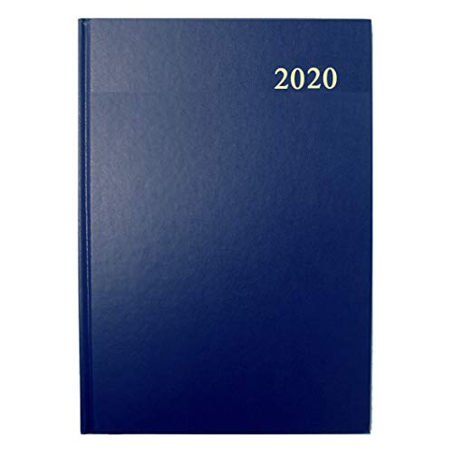 Collins Essential A5 Day to Page 2020 Diary - Blue