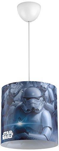 Philips Star Wars Stormtroopers AbatJour Plastique Noir 26 x 26 cm