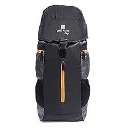 Chris & Kate Black Travel Rucksack Backpack-Trekking Backpacks-Camping Daypack Bag (CKB_205KF),Chris & Kate,205