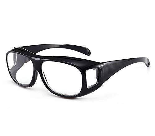 origin メガネ型拡大鏡 メガネルーペ ラージ1.8倍 拡大眼鏡 拡大鏡 拡大レンズ 眼鏡型拡大鏡 めがね型 精密作業 スマホ パソコン 老眼対策 眼鏡ストラップ 収納ポーチ付き MLOU18S