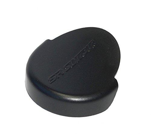 Suntour Unisex– Erwachsene Abdeckkappe li. oder re. Fahrradgabel, schwarz, 1size