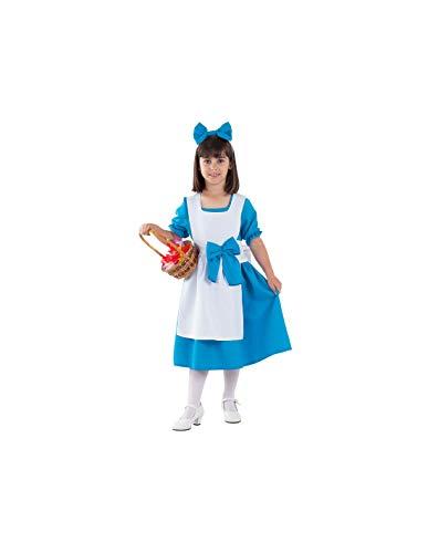 DISBACANAL Disfraz Alicia en el País de Las Maravillas niña - -, 12 años