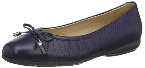 Geox D ANNYTAH C, Bailarinas para Mujer, Azul (Blue C4000), 39 EU