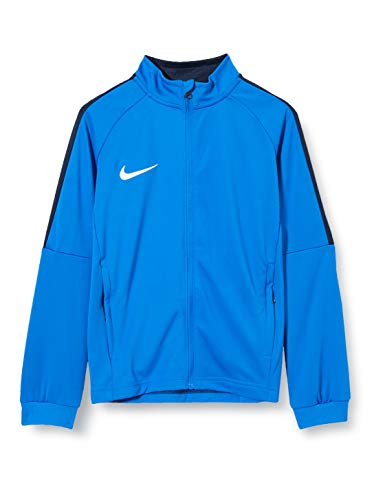 Nike Jungen Y NK Dry ACDMY18 TRK JKT K Sport Jacket, royal Blue/Obsidian/(White), XL