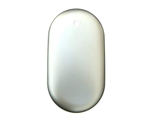 Things2KeepUWarm Deluxe Chauffe-Mains USB avec Banque d'alimentation Mobile avec 3 réglages de Chaleur et Charge Rapide de téléphone d'urgence