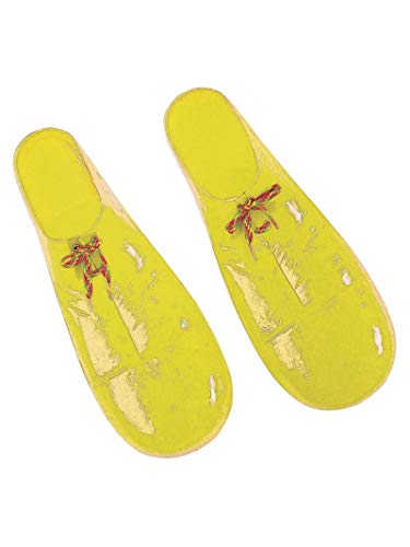 Rubie_s Plastic Clown Shoes - Red