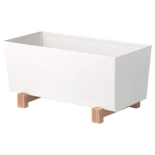 IKEA SOTCITRON 鉢カバー 32x15 cmcm ホワイト 40289495