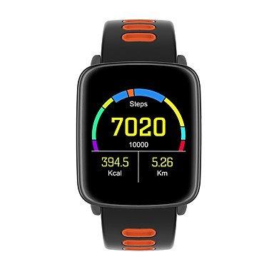 XHL Art jsbp gv68 männer Frau smart Armband Bluetooth smartwatch herzfrequenz/Schritt/Schlaf Monitor/wecker/Kalender/rechner/stoppuhr, red