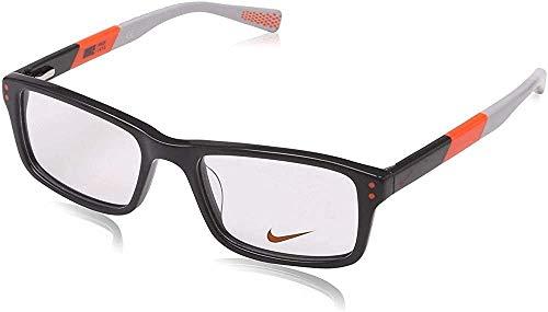 Nike Herren 5537 060 47 Brillengestelle, Grau (Dark Grey/Total Orange)