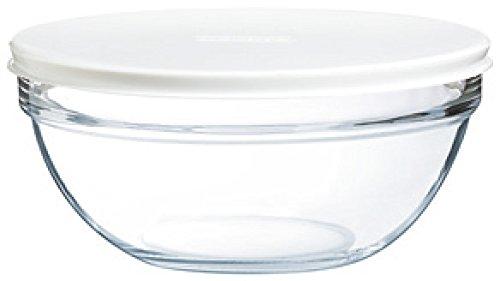 Luminarc 9201154–ensala, Verschiedene Glasbehälter, Glas, durchsichtig, 17 cm