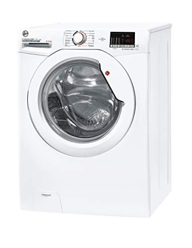Hoover H-WASH 300 H3DS4Q4642DAE-84 Waschtrockner / 6 kg Waschen / 4 kg Trocknen / 1400 U/Min / ActiveSteam: Dampf-Funktion / All in One Programm / NFC-Technologie