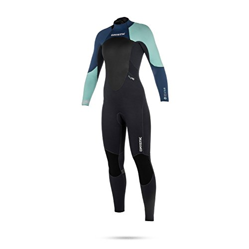 Mystic Womens Star 3/2mm GBS Backzip Wetsuit 2018 - Navy