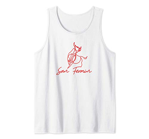 Basque: Pamplona Shirt / San Fermin Camiseta sin Mangas