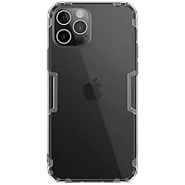 """Nillkin Case for Apple iPhone 12 / Apple iPhone 12 Pro (6.1"""" Inch) Nature Series Back Soft Flexible TPU Grey Color"""