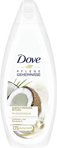 Dove Wohltuendes Ritual Pflegedusche mit Kokos- und Mandelduft, Duschgel, 250 ml