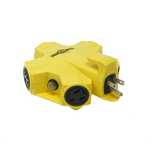 Yellow Jacket 827362 Jacket 27362 Outdoor 15-Amp Power Adapter with 5 Outlets