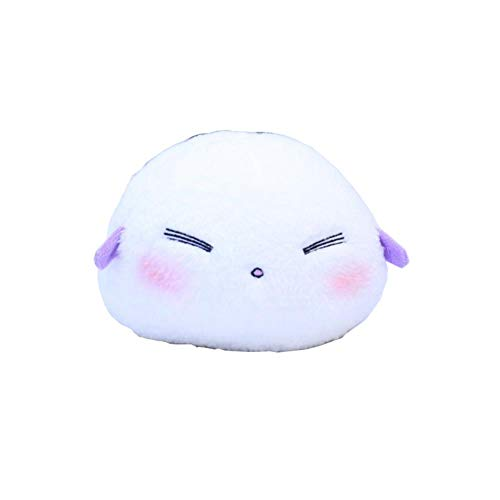 Mikucos Anime As Miss Beelzebub Likes Beruzebubu-jō no Okinimesu Mama. Plush Doll Toy Mini Toy Gift Cushion Q Type 18cm