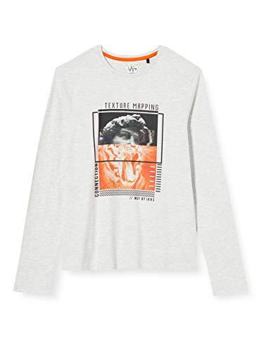 IKKS Junior XR10146 Camiseta, Gris, L para Niñas