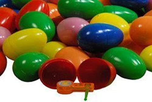 500  Toy Filled Easter Eggs - (1 Item) Toys, Stickers and Tattoo Filled (1000 Pieces) by GiftsGalore