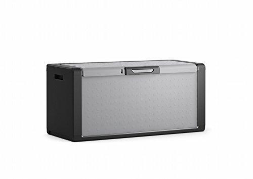Concept Usine 7200.0 TitanAufbewahrungsbox, 300l, 118 x 49 x 55 cm, Grau/Schwarz