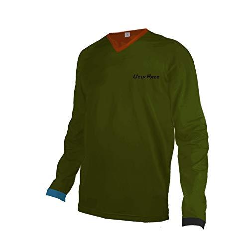 Uglyfrog Slj47 - Camiseta de ciclismo para hombre, manga larga, primavera, otoño, color Couleur 31, tamaño Taille X-Large