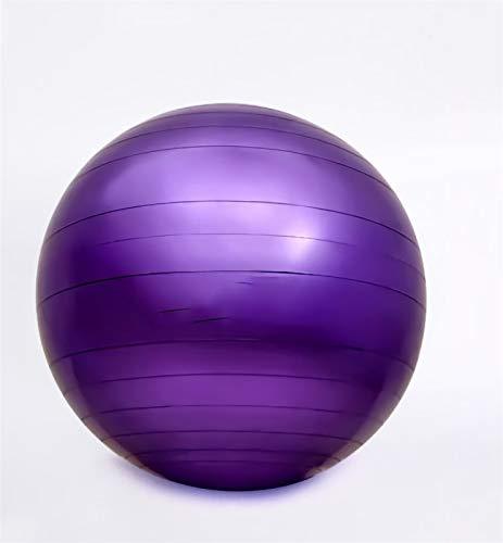 KEIT Pelota Pilates, Pelota De Fitness Engrosada, Fitball Pelota Engrosada Estructura De Pared Pelota De Pilates Es Apta para Ejercicio, Ejercicio Y Adelgazamiento. (Color : Purple, Size : 55CM)